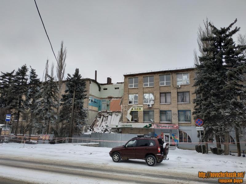 Улица Будённовская, 156. Обрушение здания в января 2019 года
