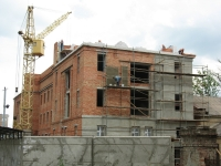 Строительство нового корпуса на территории НПИ