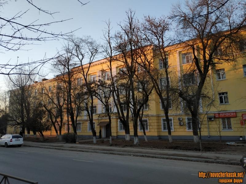 Пр. Баклановский, 78. Отремонтированное здание общежития