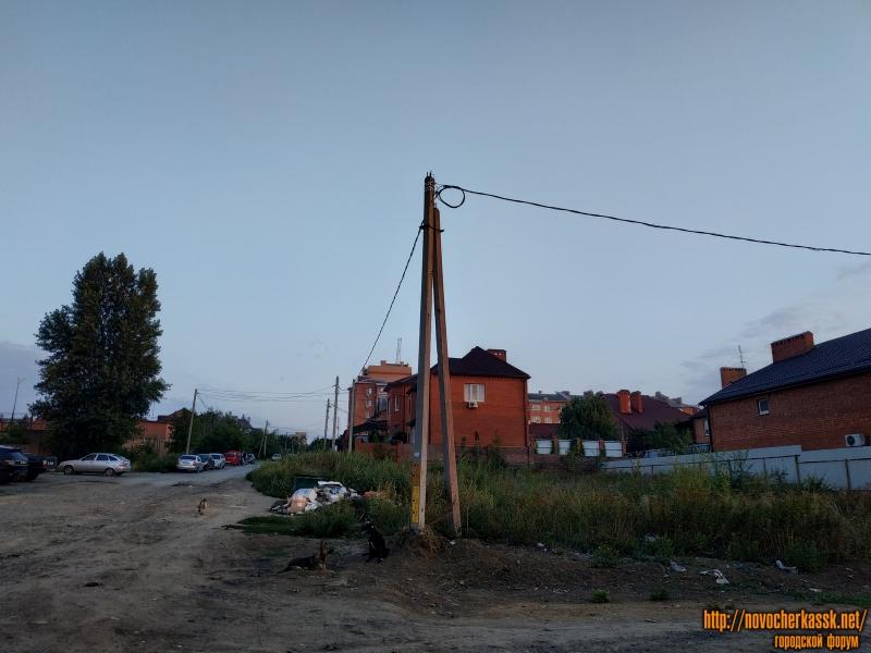 Вид на Цимлянский переулок с Будённовской улицы