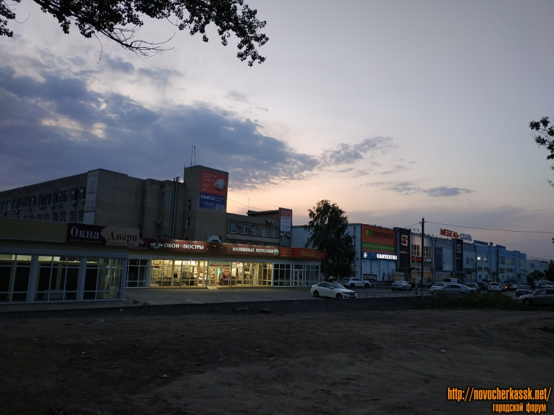 В районе пр. Баклановский, 200