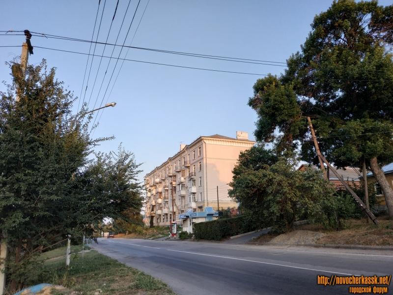 Улица Будённовская. Дом на углу спуска Герцена