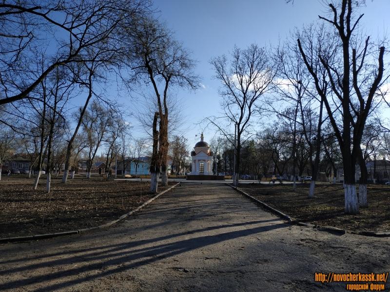 Площадь Левски. Вид с улицы Пушкинской с северной стороны