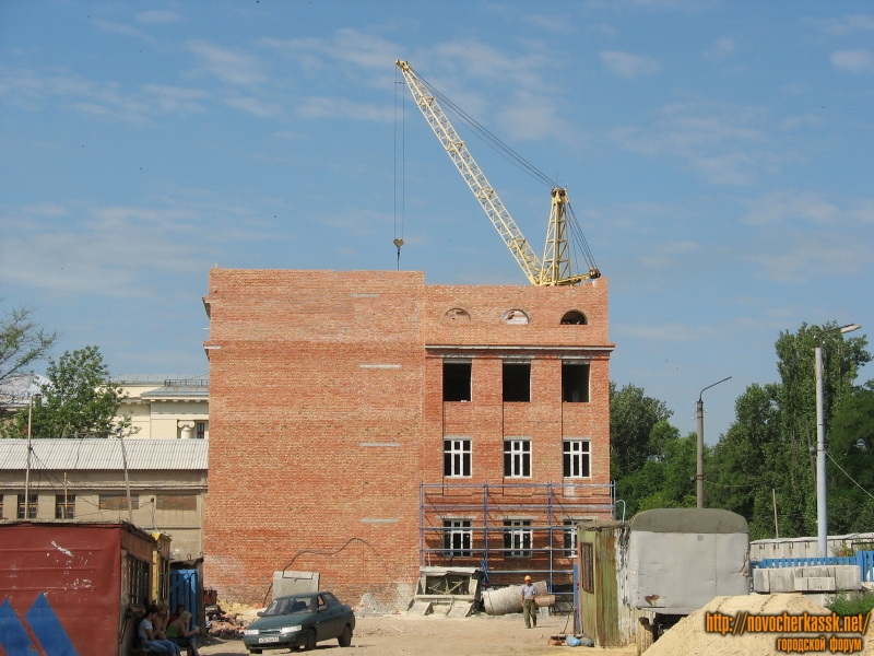 Строительство нового корпуса ЮРГПУ (НПИ)