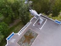 Памятник авиаторам на Хотунке