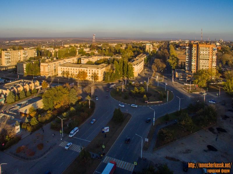 Вид на территорию вокруг площади Юбилейной