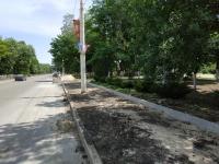 Ремонт тротуаров на Баклановском проспекте