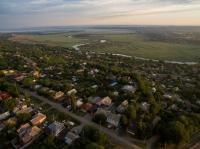 Вид на кварталы ниже улицы Добролюбова