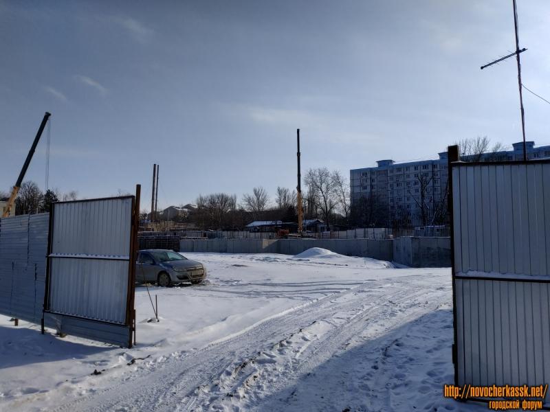 Строительство детского сада, пр. Баклановский, 196В