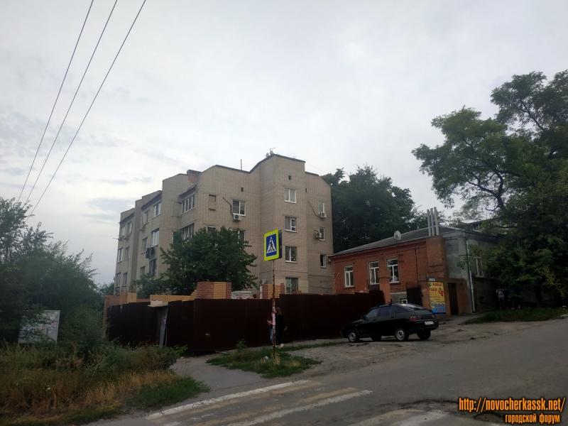 Строительство дома на углу Островского и Будённовской