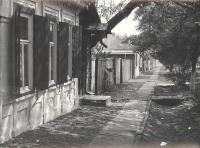 Улица Будённовская, 1976 год. Слева ближайший дом - №78
