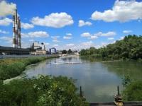 Вид на Новочеркасскую ГРЭС с Тёплого канала