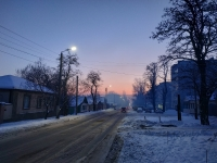 Улица Будённовская. За окном -21 градус
