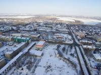 Пересечение ул. Будённовской и 26 Бакинских комиссаров. Бывшая территория молзавода и трампарк