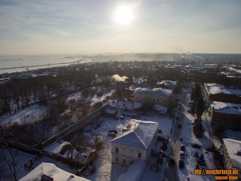 Александровский сад и улица Дворцовая