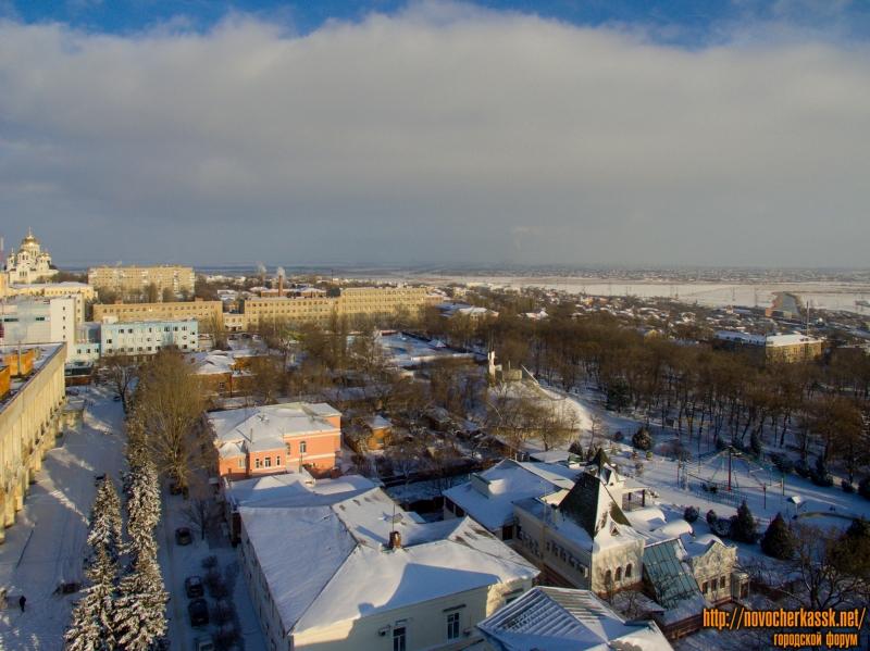 Улица Дворцовая и Александровский сад