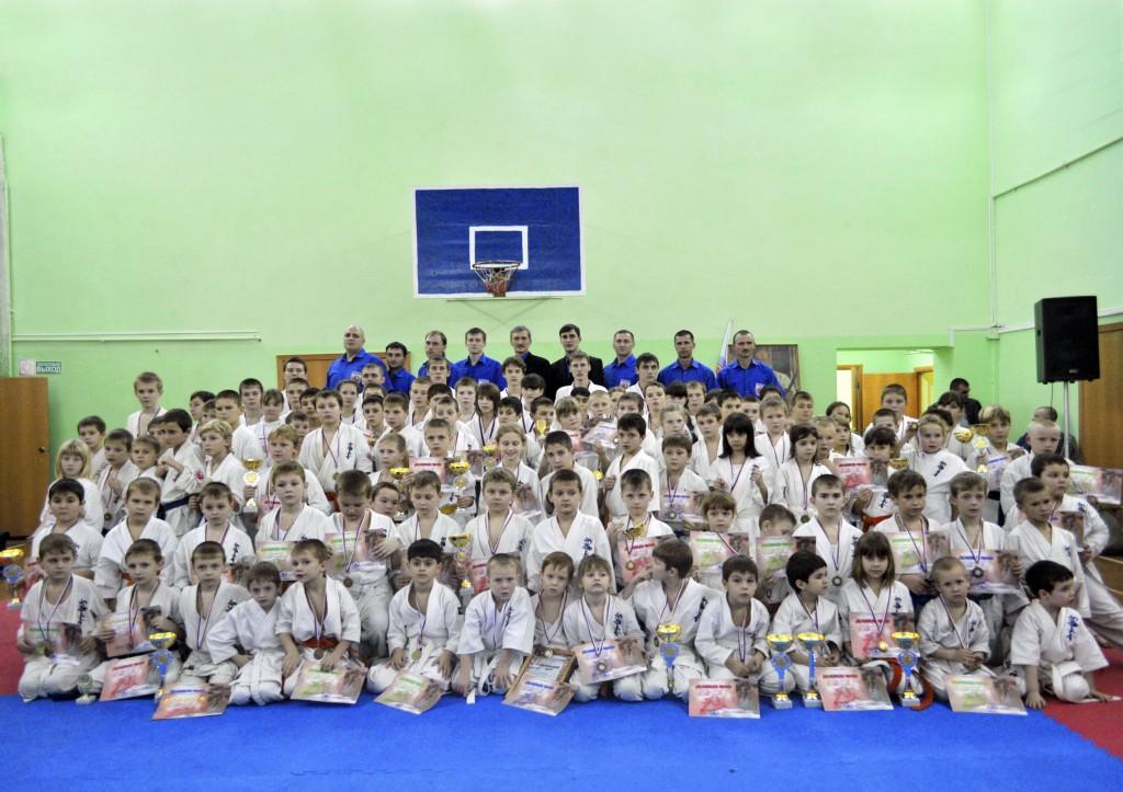 Турнир по киокушинкай карате в Новочеркасске