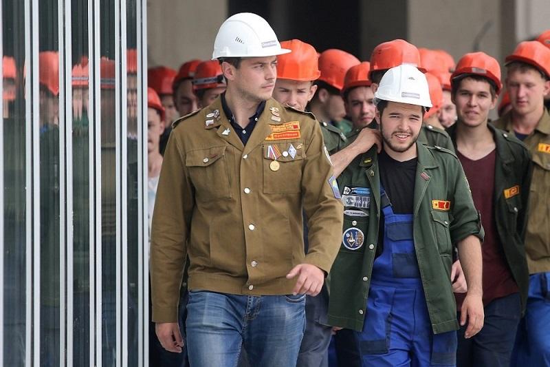 строительный отряд картинка
