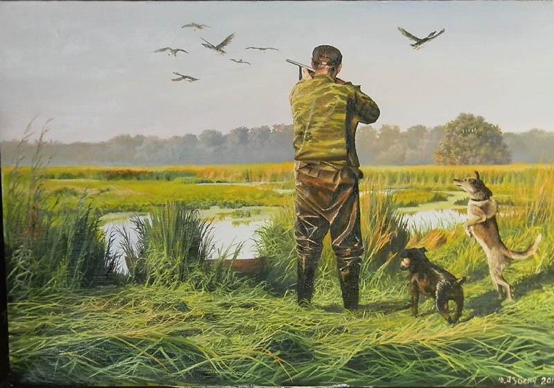 Картинки об охоте и рыбалке, прикольные коллегам